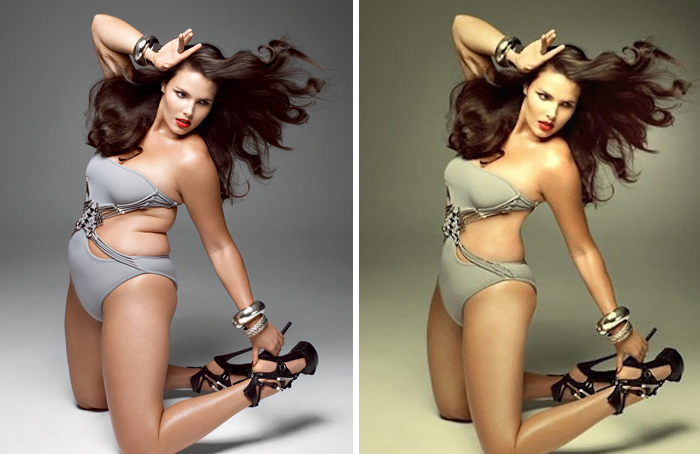 39 Pictures That Show the Before and After Effects of Photoshop On Hollywood's Biggest Stars