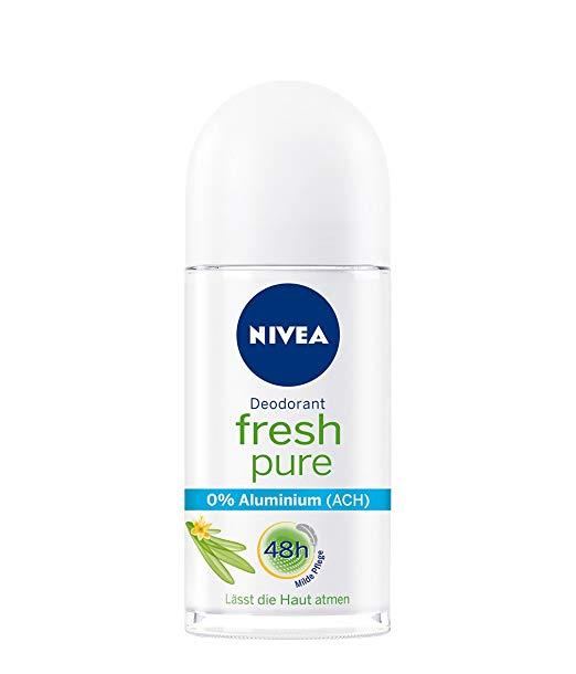 Genuine Authentic German Nivea Deodorant Fresh Pure Aluminum Free 1.69 fl.oz/50ml