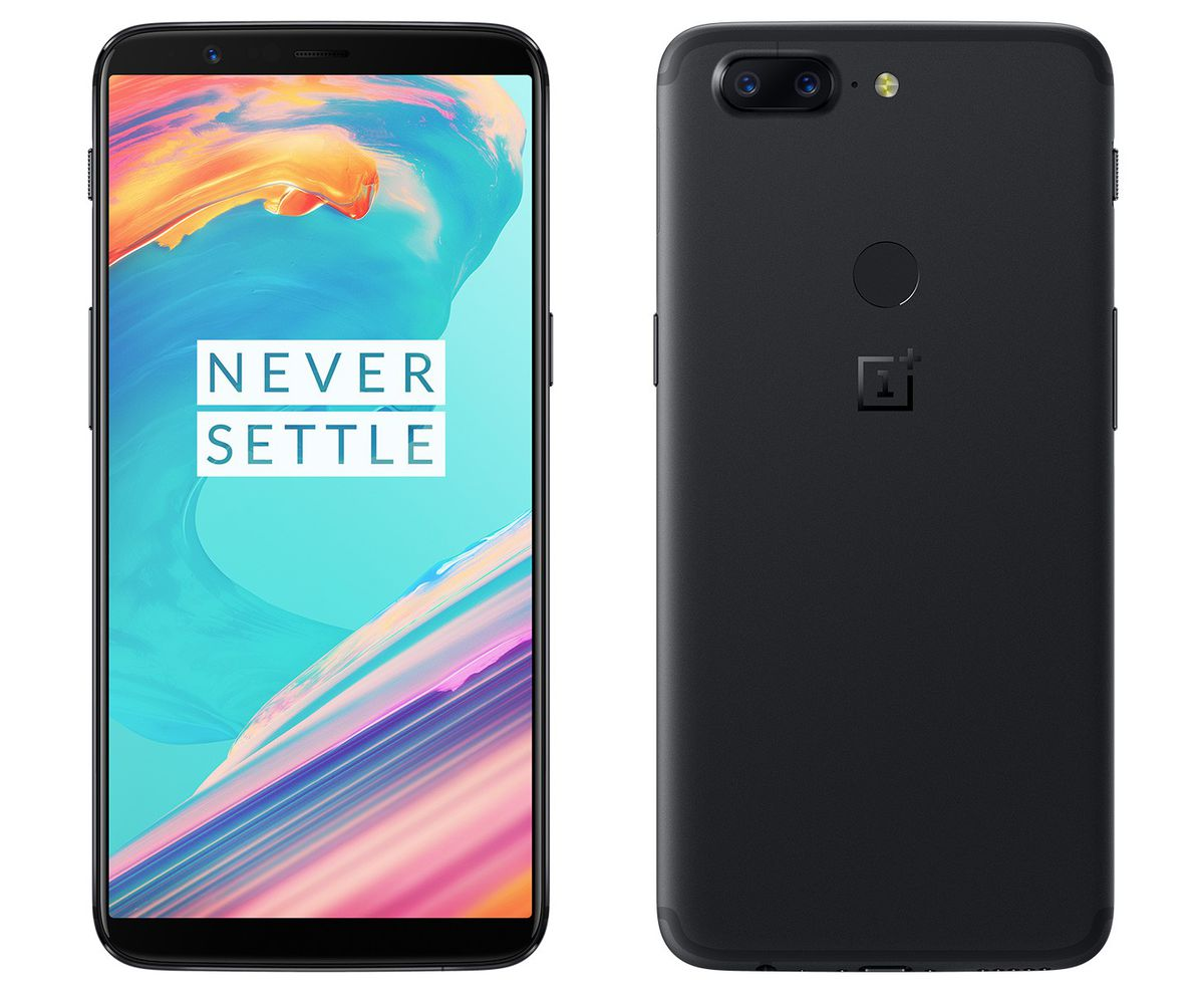 OnePlus 5T(Midnight Black 6GB RAM) For Rs. 32,999 At Amazon
