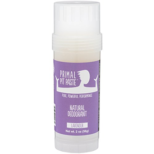 Primal Pit Paste All Natural Lavender Deodorant – Aluminum Free, Paraben Free, Non-GMO, for Women and Men