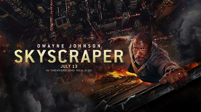 Watch Movie 'Skyscraper' This Weekend On Amazon Prime