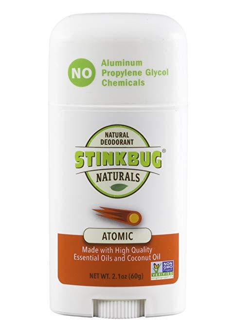 Stinkbug Naturals Atomic Stick Deodorant