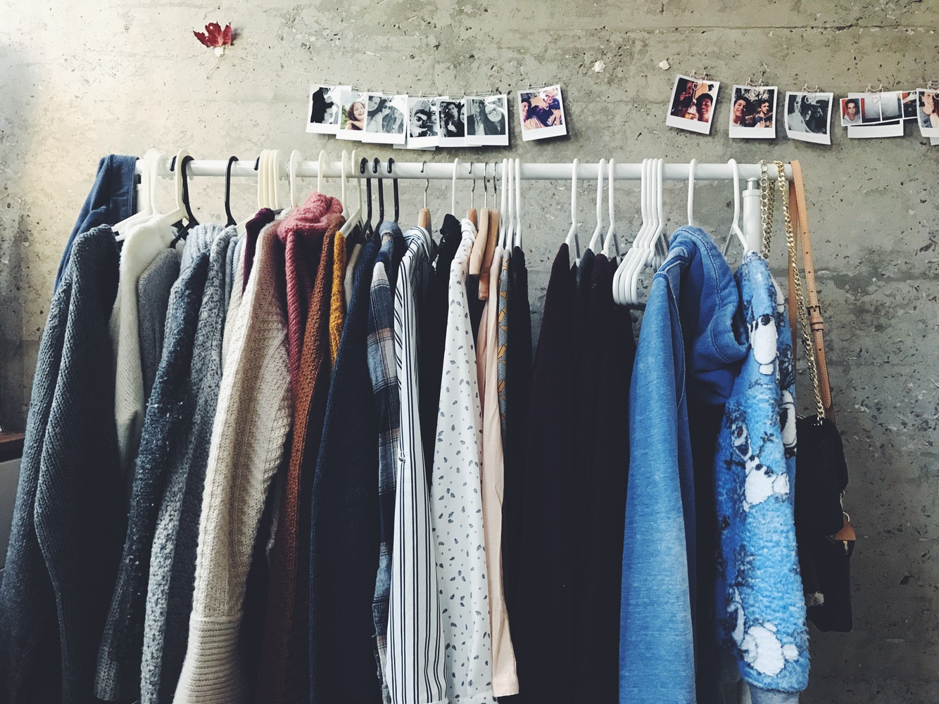 Sell old clothes
