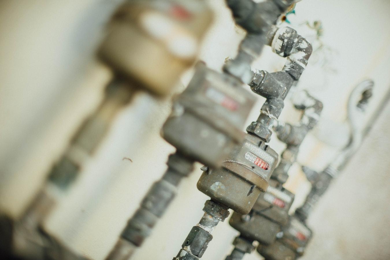 Mechanical water flow meters