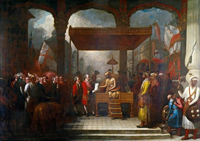 Mughal emperor Shah Alam II