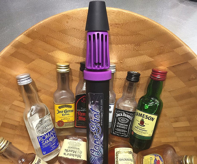 Alcohol Vaporizing Pump Cool Things To Buy