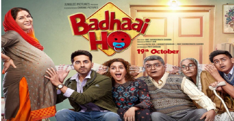 "New Bollywood Movie Trailer Of ""Badhaai Ho"" Is A Laugh Riot!"