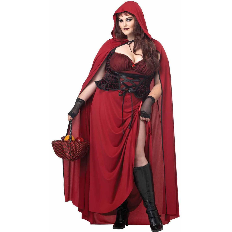 California Costumes Women's Dark Red Riding Hood Adult