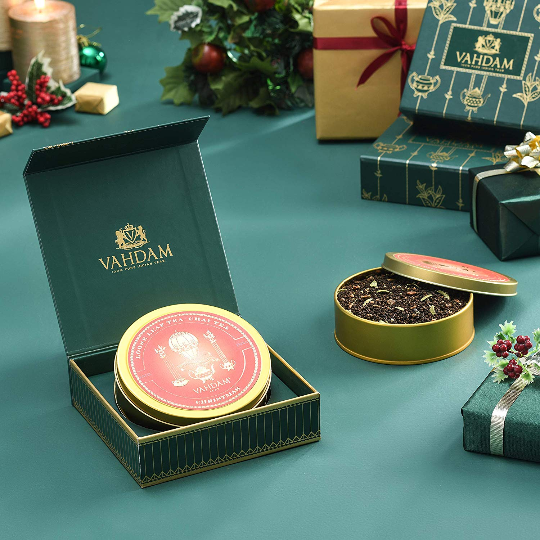 Christmas Tea, Tin Caddy, 100% Pure