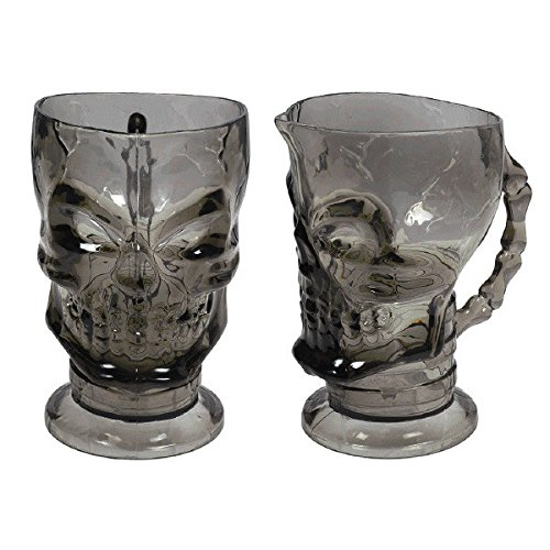 Creepy Halloween Skull Pitcher | Heavy Plastic