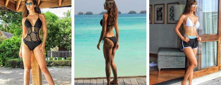 Disha Patani Bikini Pics