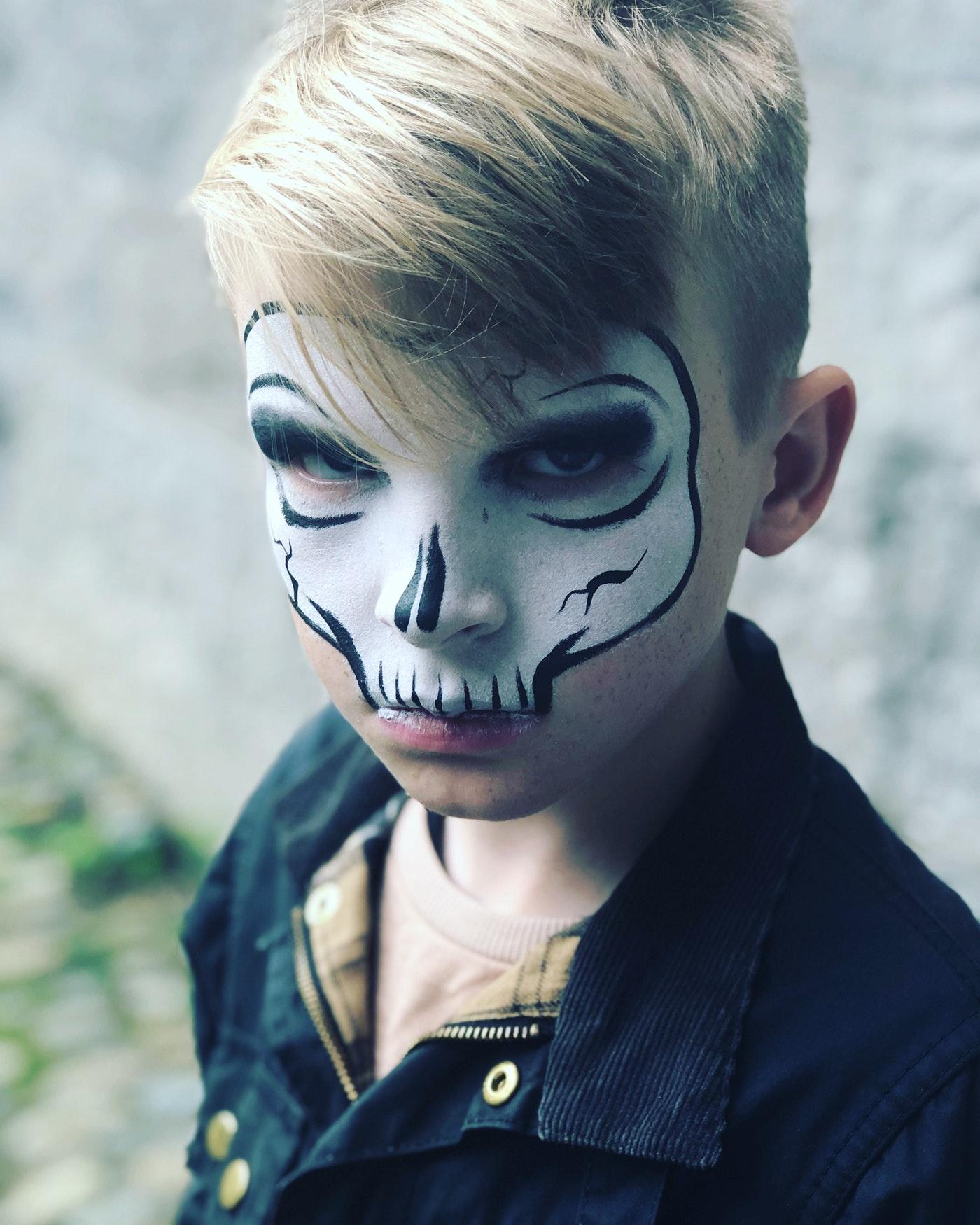 Dramatic Looks On Halloween_3