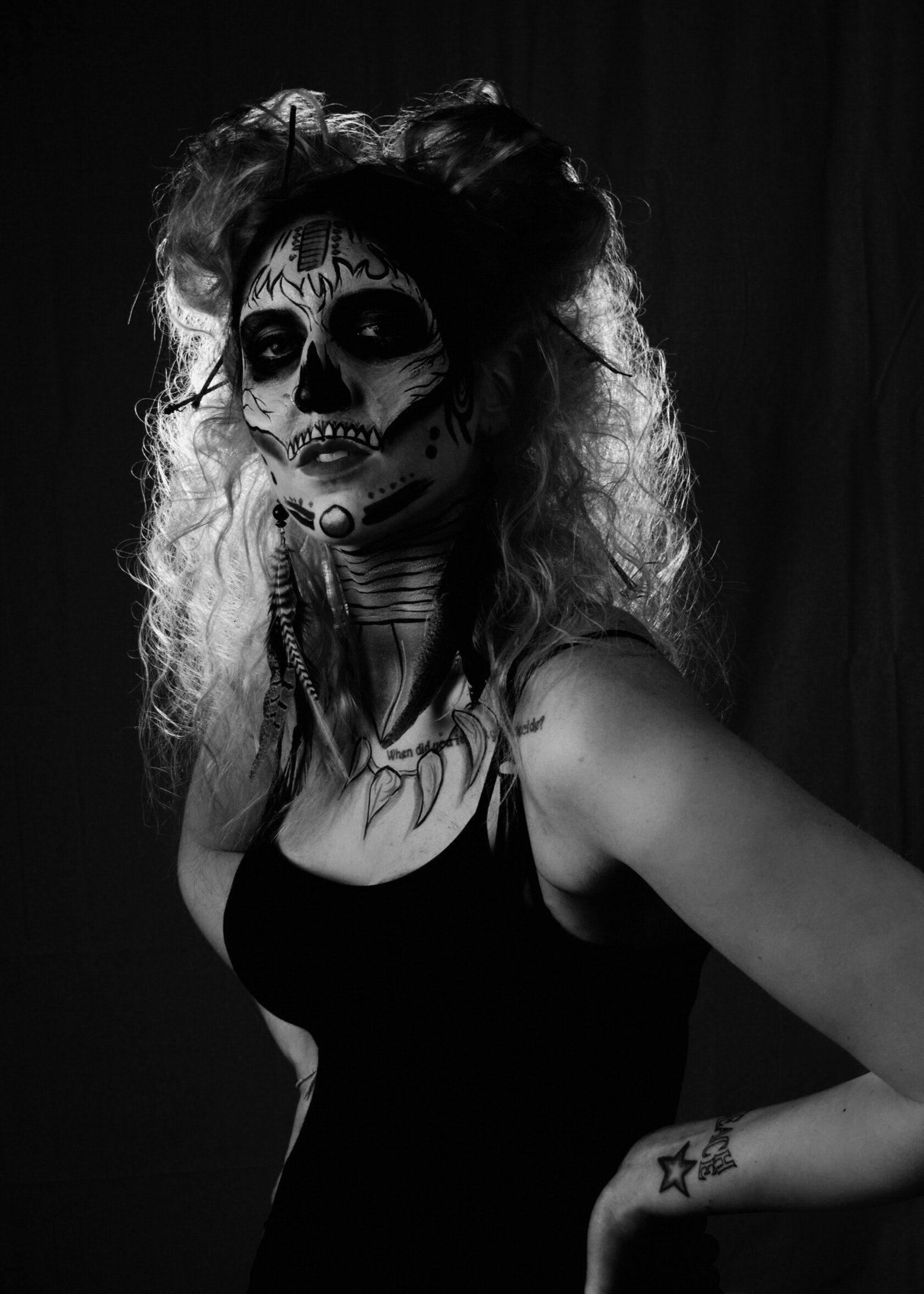 Dramatic Looks On Halloween_4