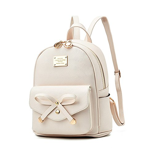 Fayland Women Teens Girls Leather Backpacks Purses Convertible Shoulder Bag