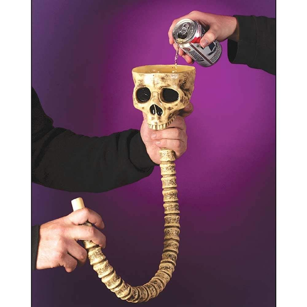 Fun World Skull Beer Funnel
