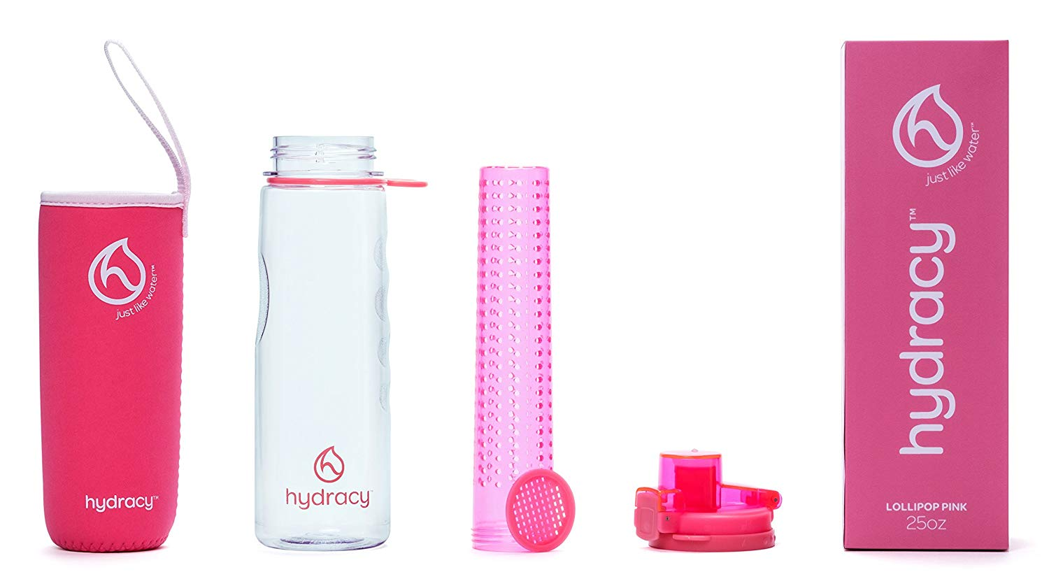 Hydracy Fruit Infuser Water Bottle