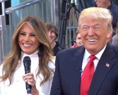 Melania And President Trump