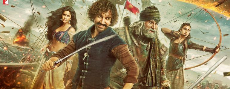 "New Bollywood Movie ""Thugs Of Hindostan"""