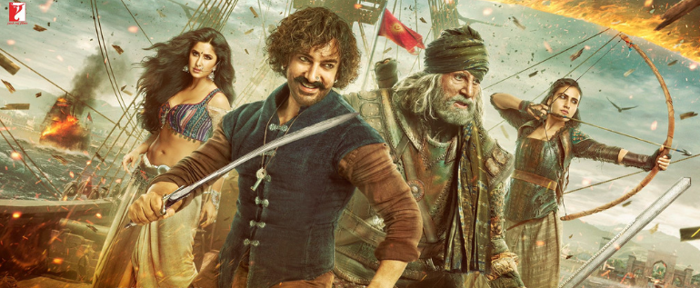 "New Bollywood Movie ""Thugs Of Hindostan"": First Poster And Motion Posters Of Lead Actors"