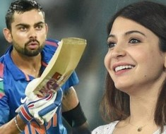 Virat-Anushka_Anushka Sharma and Virat Kohli have been spotted exchanging flying kisses
