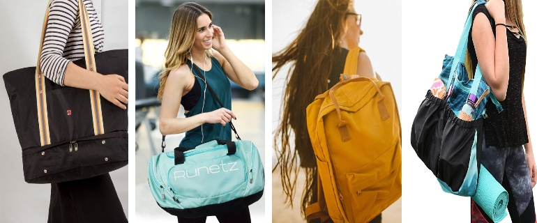 15 Best Gym Bags For Women That Won't Make You Look Like A Student
