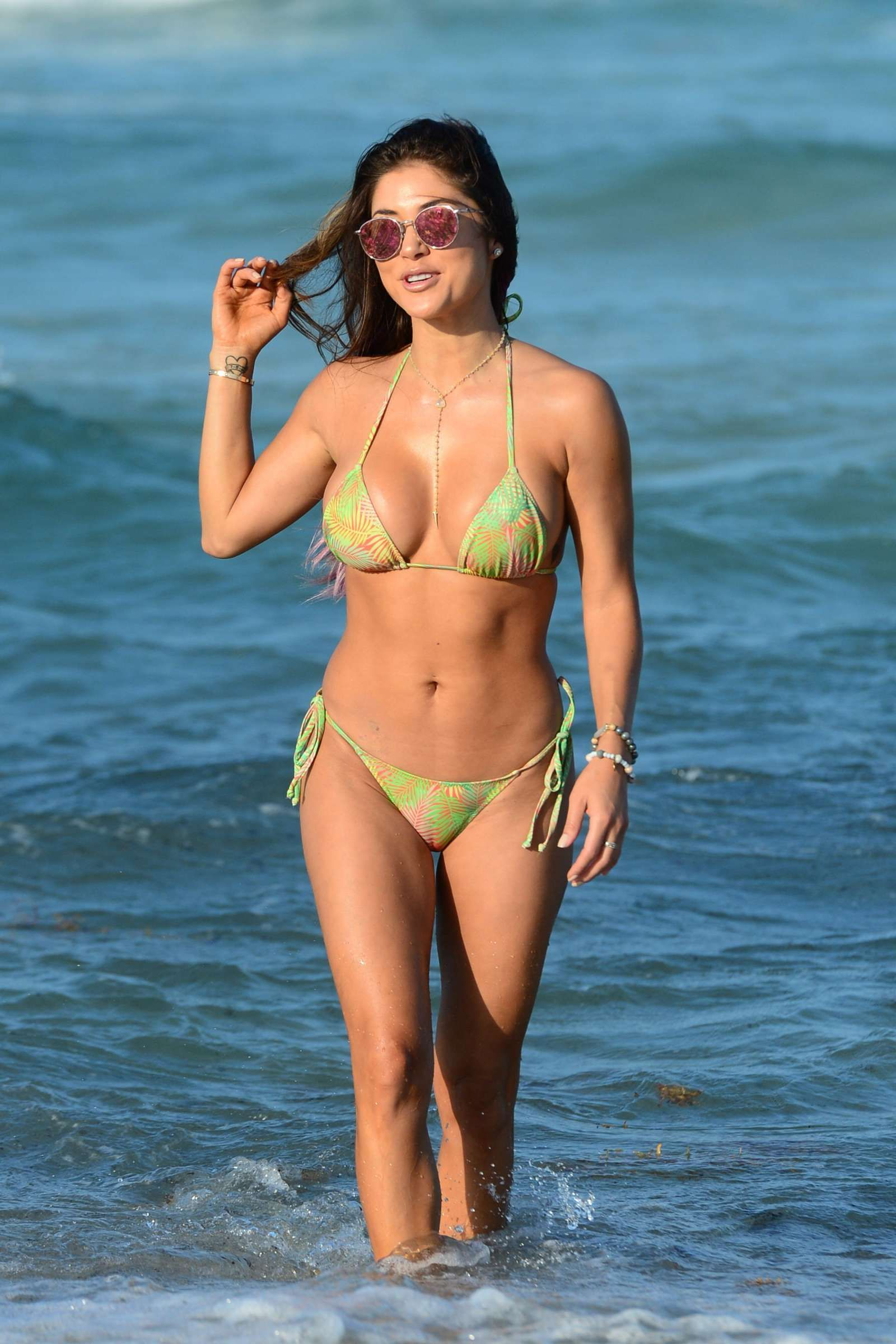 Arianny Celeste Wearing A Bikini In Miami