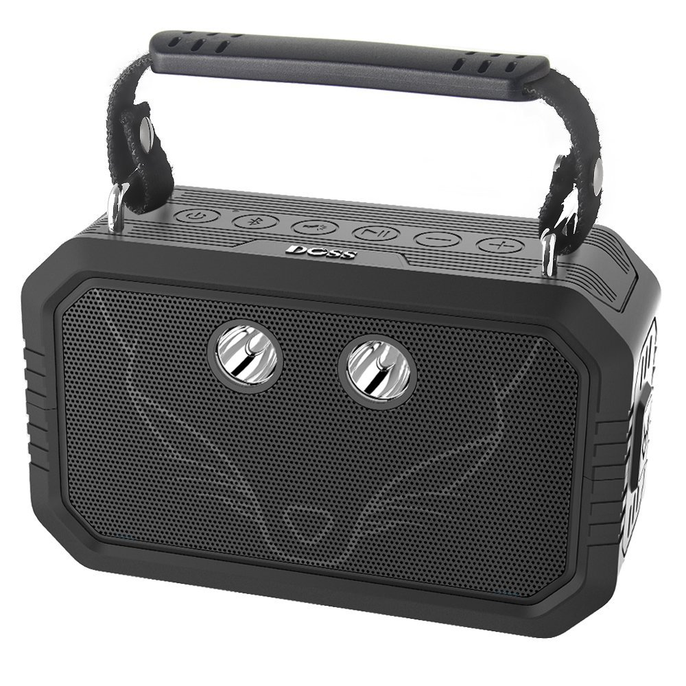 DOSS Wireless Portable Bluetooth Speakers with Waterproof IPX6
