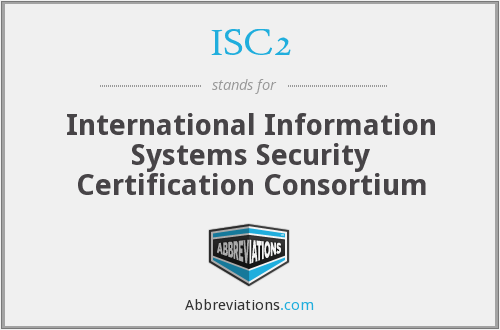 ISC2 Security Certification