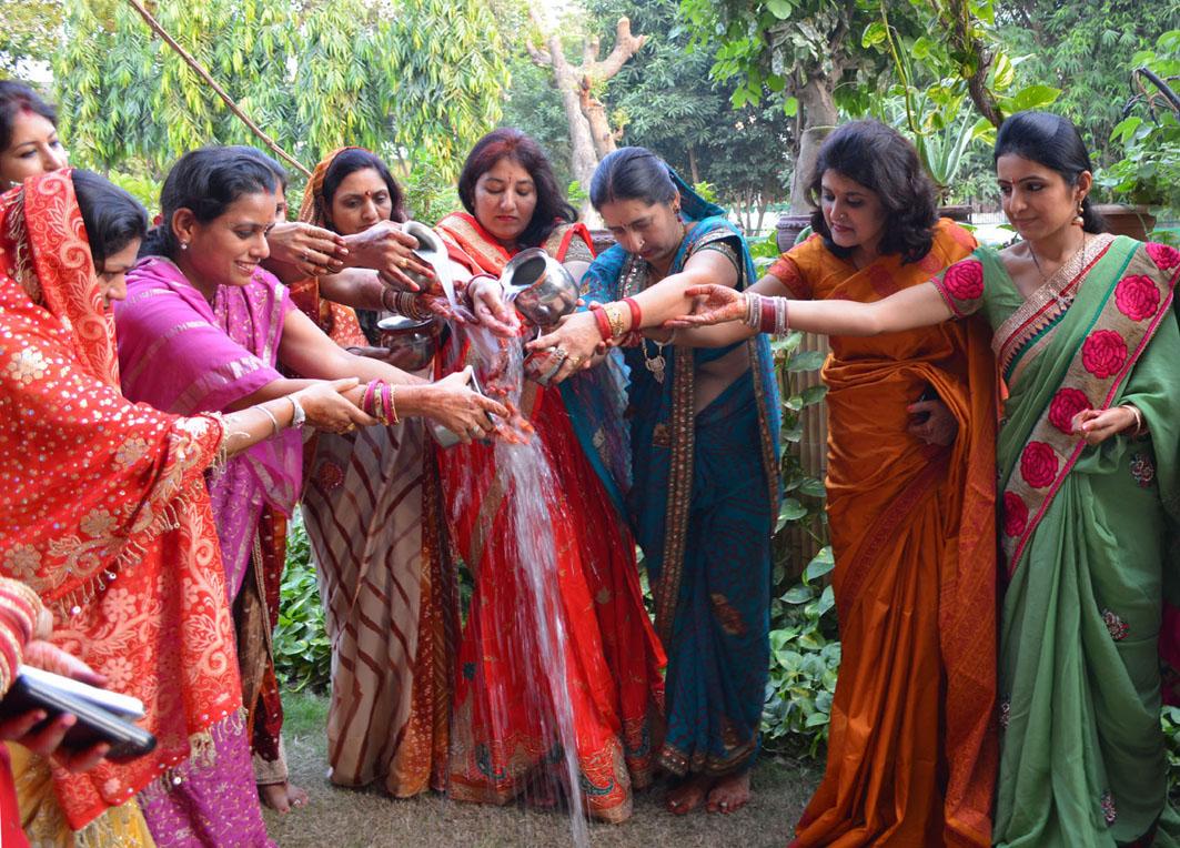 Karwa Chauth Puja And katha