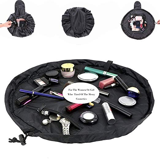 Lazy Cosmetic Bag, Maxtour Makeup Toiletry Jewelry Organizer