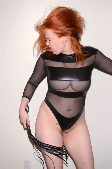Maitland Ward Almost Nude On A Photo Shoot For Rubber Magazine