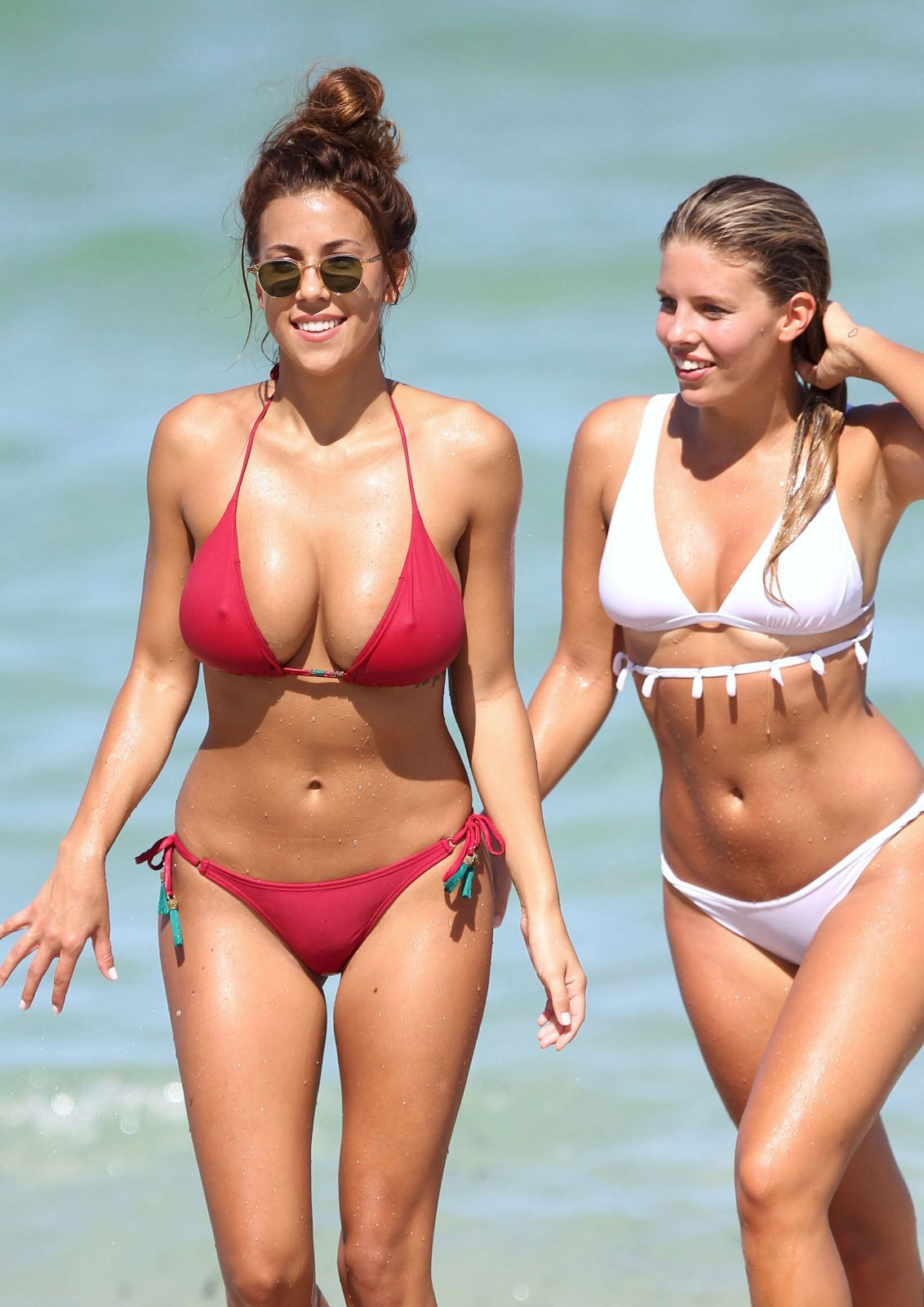 Natasha Oakley & Devin Brugman Bikini Fun In Miami