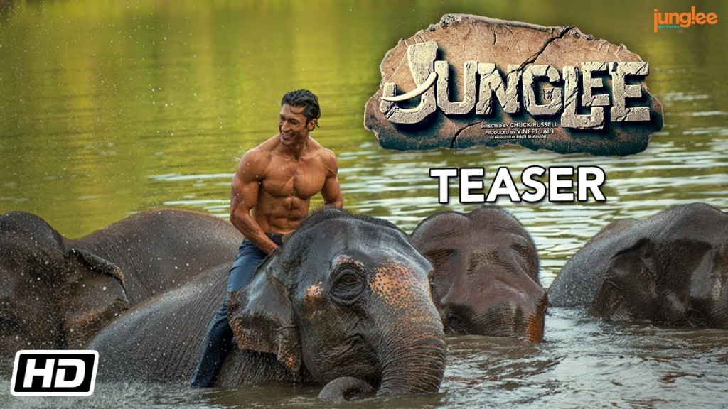 New Bollywood Movie Teaser Of Junglee Where Vidyut Jammwal Flaunts His Action Avatar!
