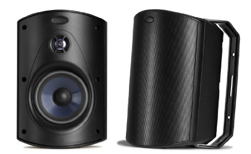 Polk Audio Atrium 6 Speakers (Pair, Black)