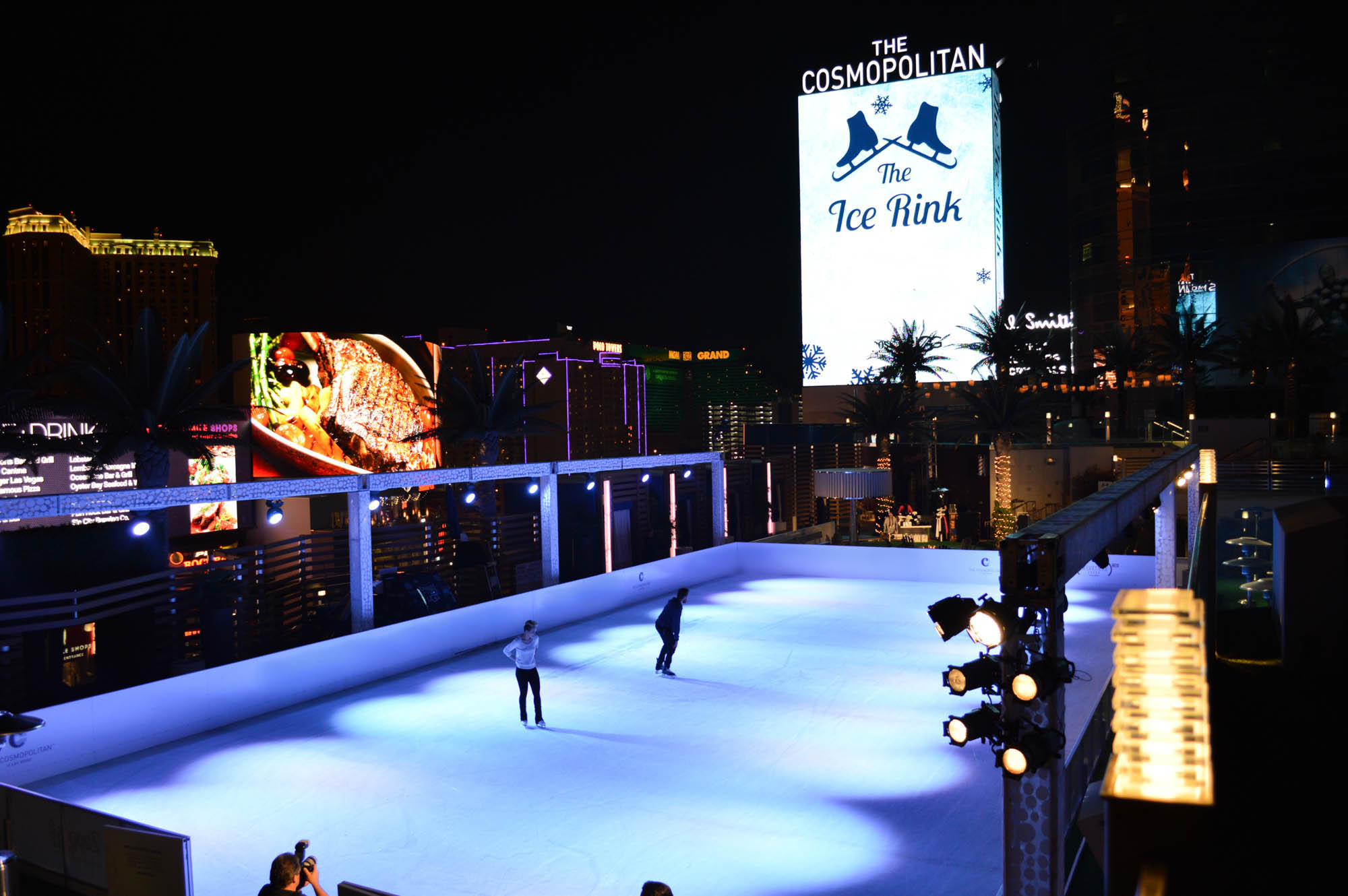 Skating Rink At The Cosmopolitan