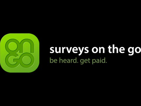 Surveys On The Go -Apps That Make You Money