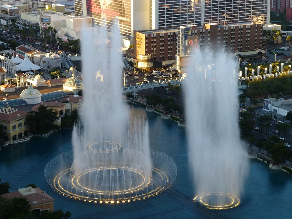The Bellagio Dancing Fountains