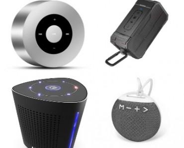 Top Best Portable Bluetooth Speakers in 2018