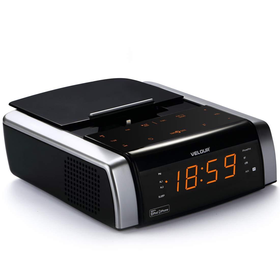VELOUR YW-009 FM Clock Radio