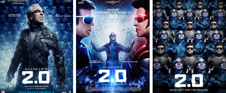 Watch The Movie Trailer Of 2.0 And The Rajinikanth And Akshay Kumar Starrer Is A Visual Spectacle!