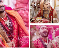 Deepika Padukone And Ranveer Singh's Wedding