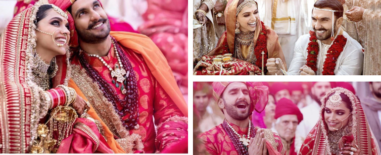 Stunning Wedding Pics Of Deepika Padukone And Ranveer Singh