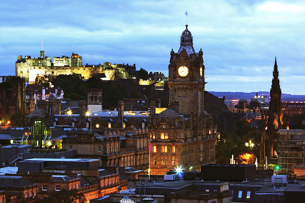 Edinburg, the Scotland Capital