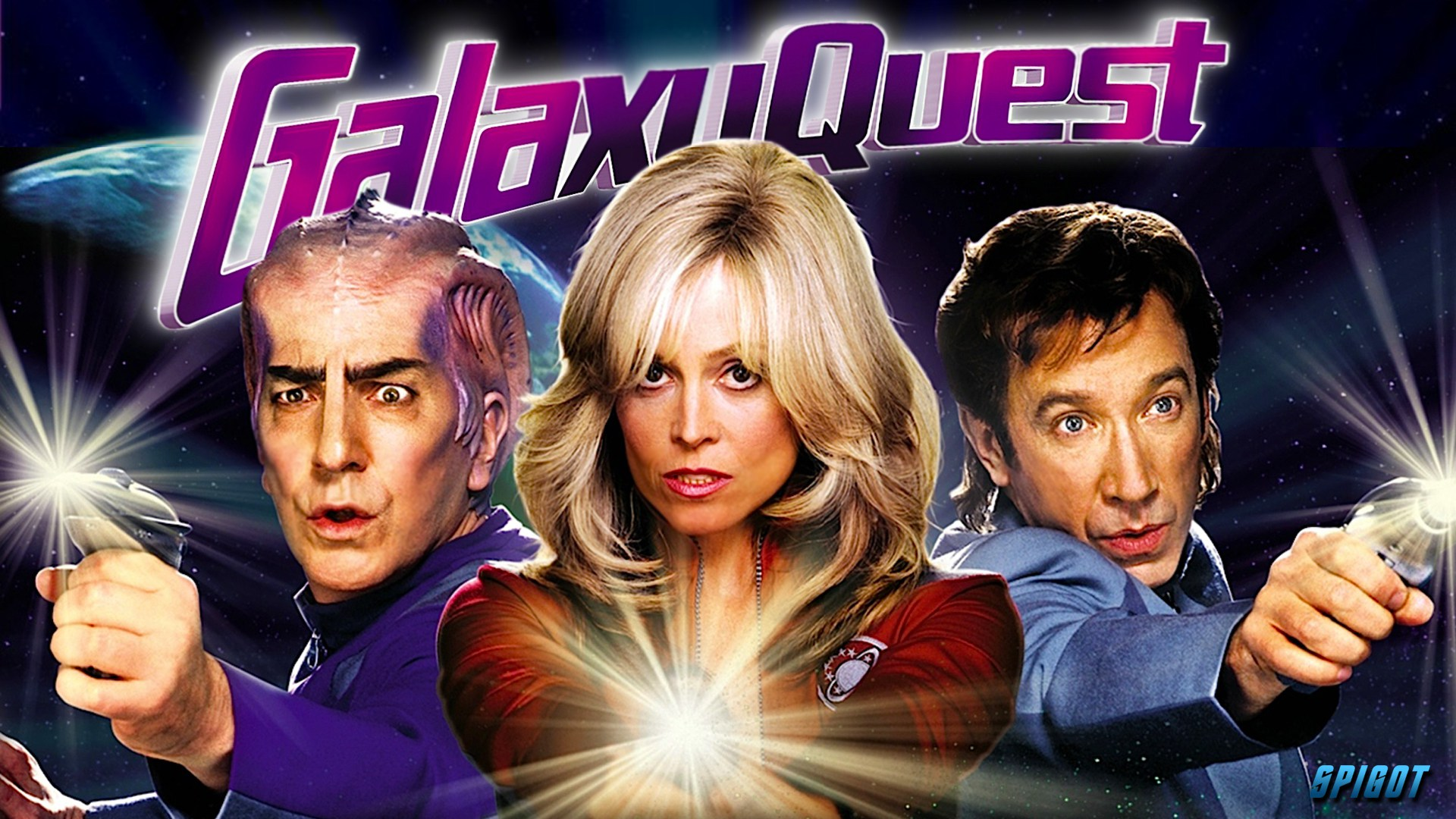 "Watch Movie ""Galaxy Quest"" This Weekend"