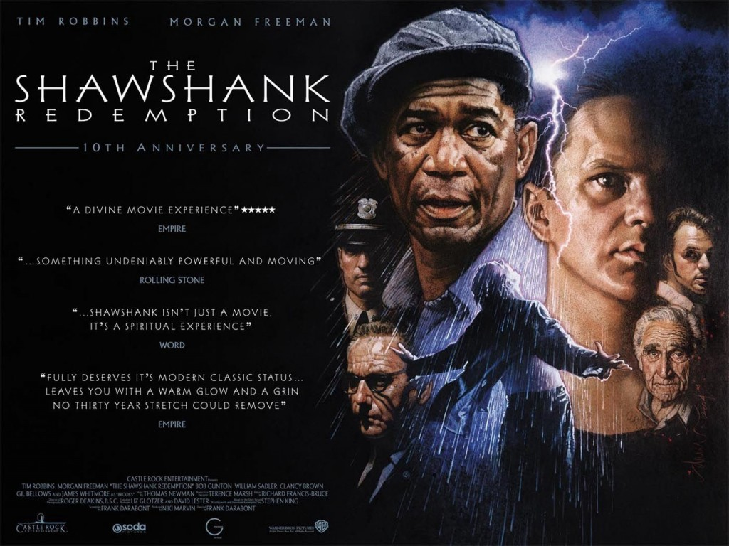 "Watch Movie ""The Shawshank Redemption"" This Weekend On Amazon Prime"
