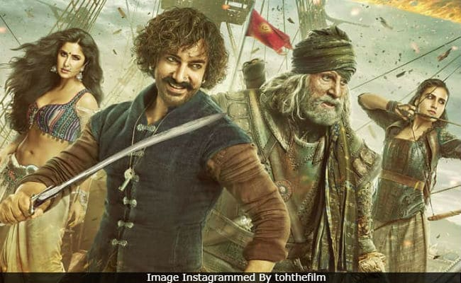 "Watch Movie ""Thugs Of Hindostan"" This Weekend"