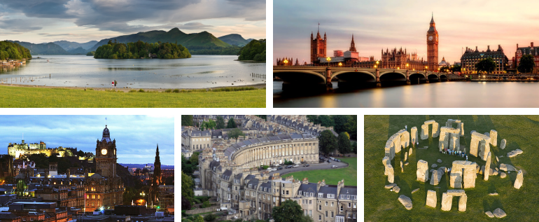 Tourist Destinations In The UK In 2019