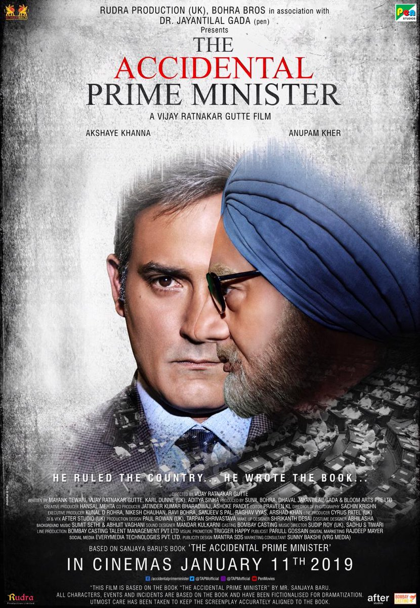 "New Bollywood Movie Trailer Of ""The Accidental Prime Minister"""