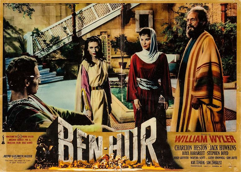 "Watch Movie ""Ben-Hur"" This Weekend On Amazon Prime"