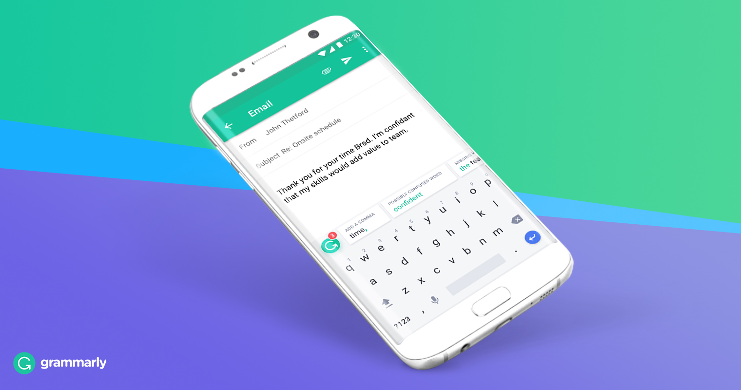 Grammarly Keyboard - Best Free Apps For Android